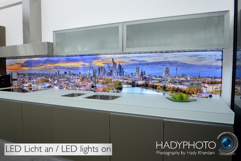 Led Hinterleuchtete Kuchenruckwand Hadyphoto Fine Art Fotografie